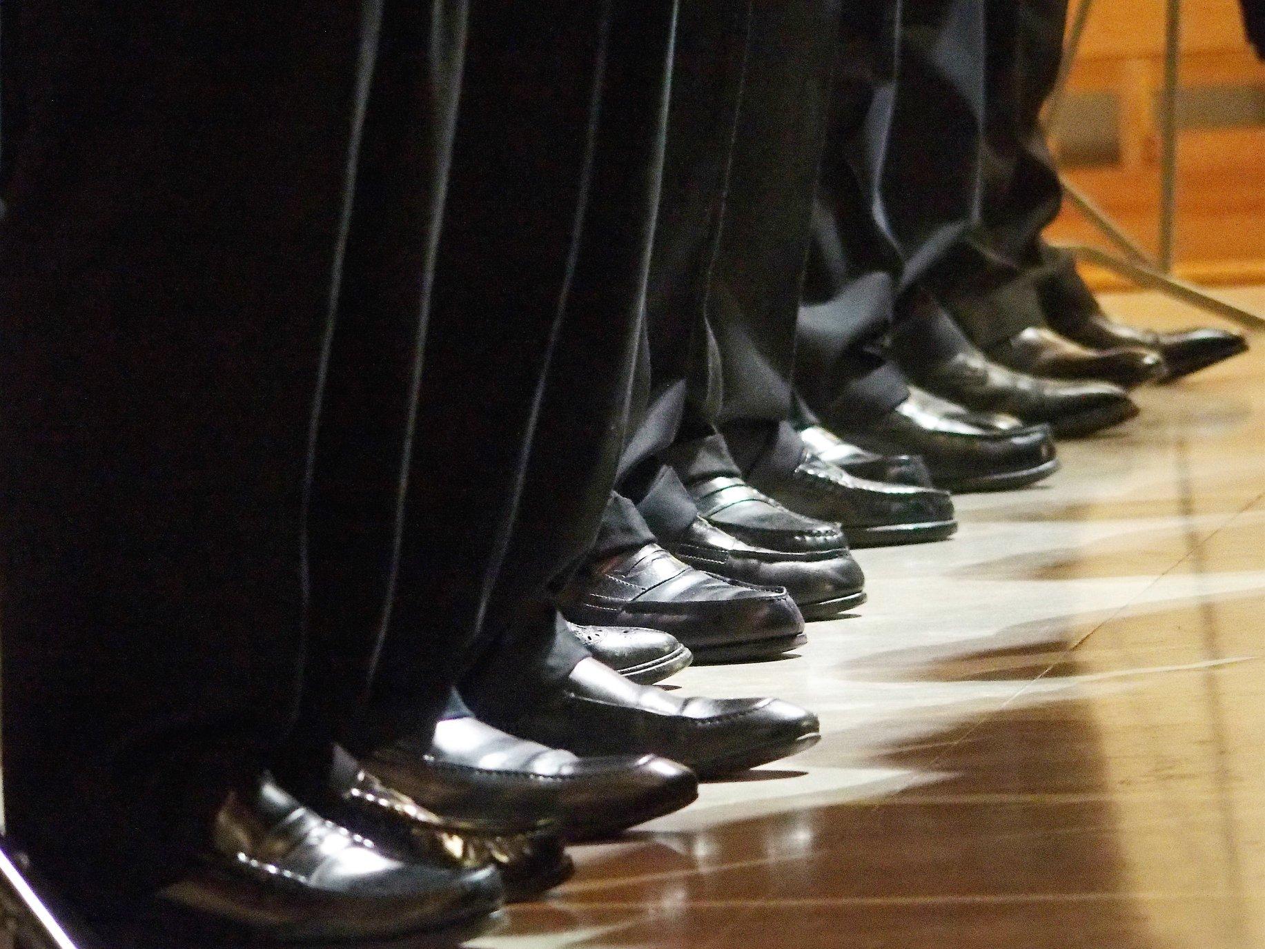 chaussures-choristes
